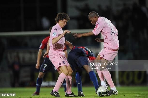 Gaetan ENGLEBERT Yacouba SYLLA Tenema NDIAYE Clermont / Metz 13eme journee de Ligue 2