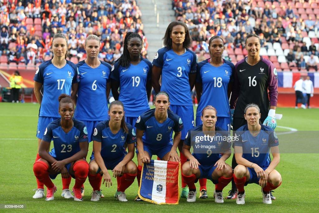 ¿Cuánto mide Wendie Renard? - Real height Gaetane-thiney-of-france-women-amandine-henry-of-france-women-griedge-picture-id820946406