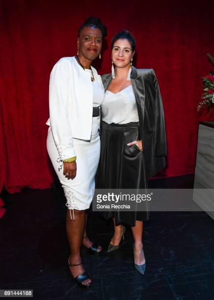 Gaetane Verna and Maria Giulia Maramotti attend Power Ball XIX Stereo Vision Presented By Max Mara at The Power Plant on June 1 2017 in Toronto Canada