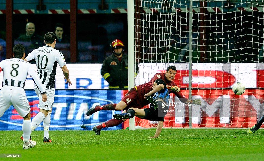 FC Internazionale Milano v AC Siena  - Serie A