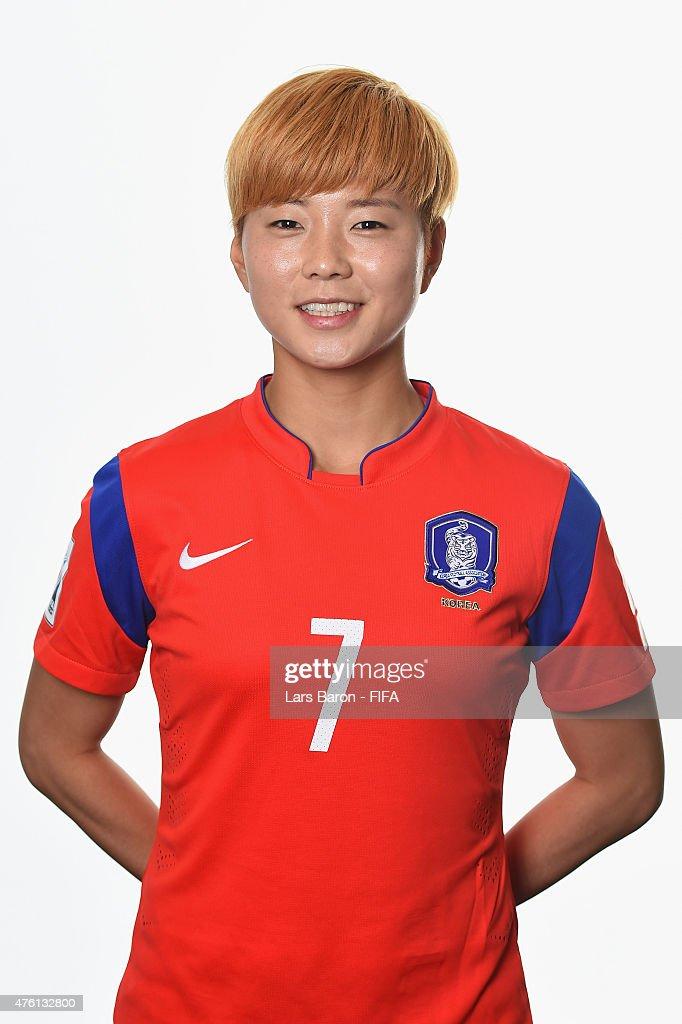 Korea Republic Portraits - FIFA Women's World Cup 2015