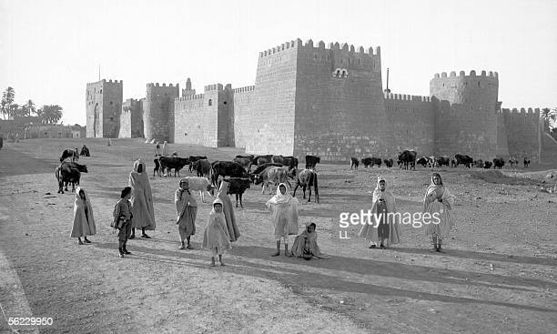 Gafsa Seen of the casbah About 1900 LL14A 13X18