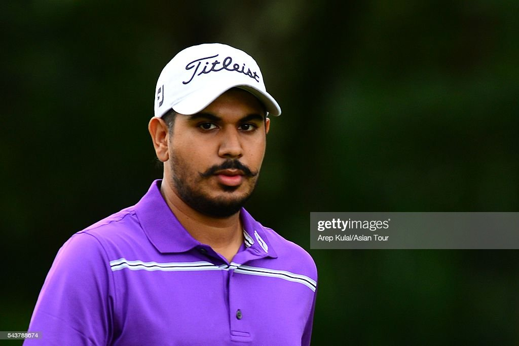 <a gi-track='captionPersonalityLinkClicked' href=/galleries/search?phrase=Gaganjeet+Bhullar&family=editorial&specificpeople=4066388 ng-click='$event.stopPropagation()'>Gaganjeet Bhullar</a> of India pictured during the round 1 of the Yeangder Tournament Players Championship at Linkou International Golf Club on June 30, 2016 in Taipei, Taiwan.