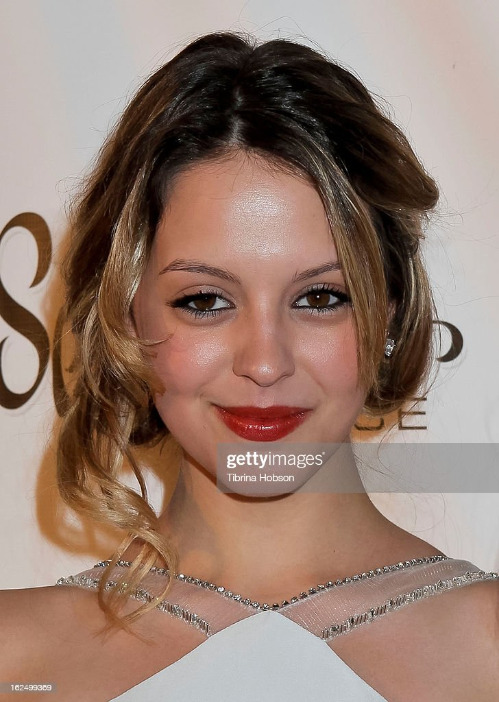 Gage Golightly attends the Borgnine Group's 1st annual Borgnine movie star gala at Sportsmen's Lodge on February 23, 2013 in Studio City, California.