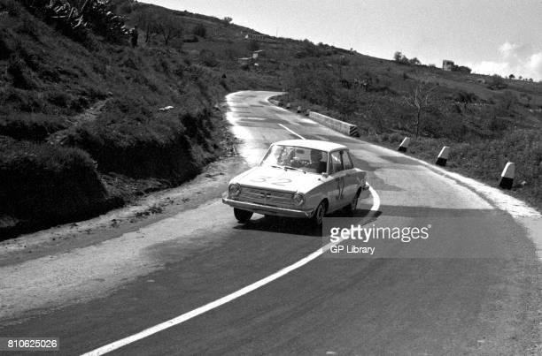 Gagliano driving a Glas 1304TS at Targa Florio