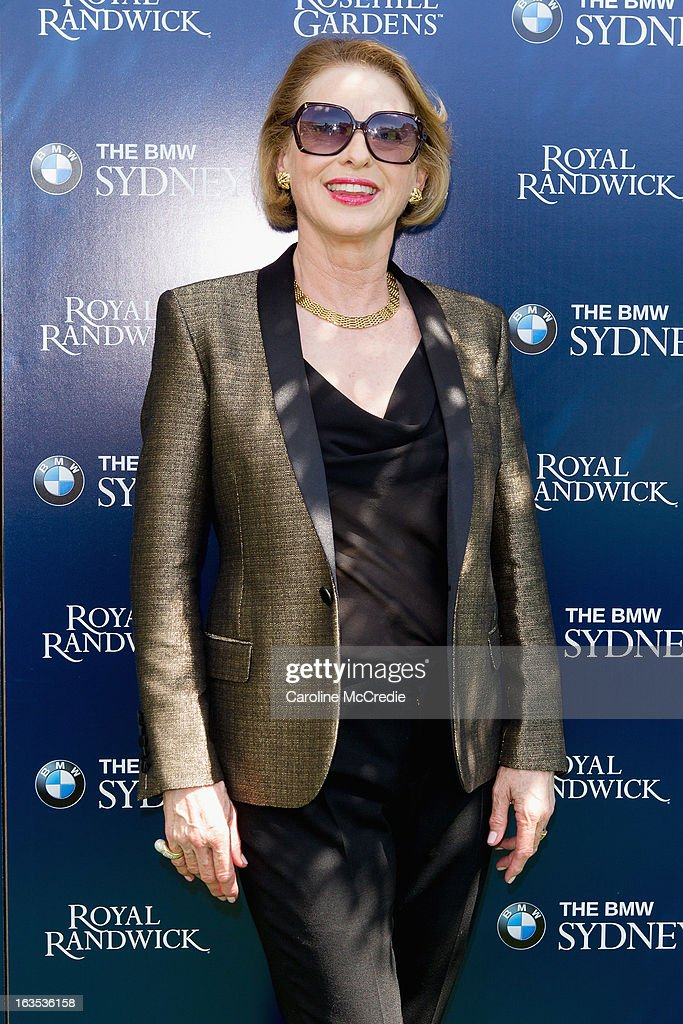 Gai Waterhouse at the BMW Sydney Carnival launch at Centennial Park on March 12, 2013 in Sydney, Australia.