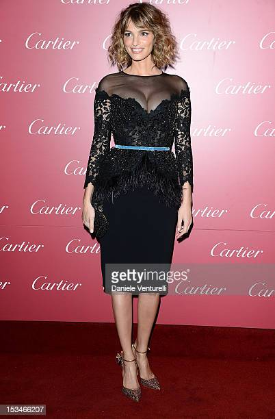 Gaia Bermani Amaral attends the Cartier Boutique reopening cocktail party on October 5 2012 in Milan Italy