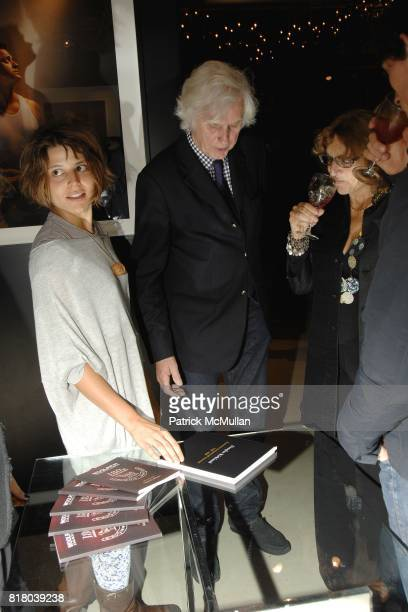 Gaia Douglas Kirkland and Silvia Bizio attend Woolrich John Rich Bro's Photo Exhibition with Douglas Kirkland at Bloomingdales on September 16 2010...