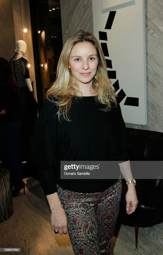 Gaia Filippi attends Kelly Wearstler and LACMA's Avant-Garde celebrating her eponymous new book Kelly Wearstler: 'Rhapsody' at Kelly Wearstler Boutique on January 16, 2013 in West Hollywood, California.
