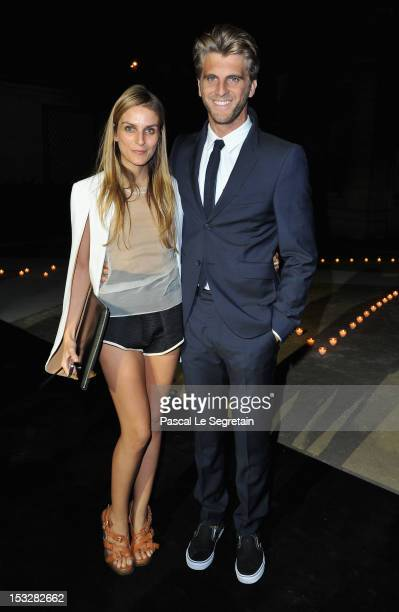 Gaia Repossi and Jeremy Everett attends LE BAL hosted by MAC and Carine Roitfeld as part of Paris Fashion Week Spring / Summer 2013 at Hotel Salomon...