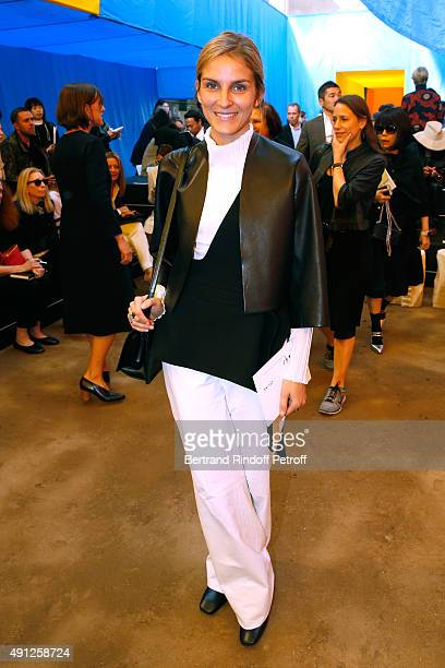 Gaia Repossi attends the Celine show as part of the Paris Fashion Week Womenswear Spring/Summer 2016 on October 4 2015 in Paris France