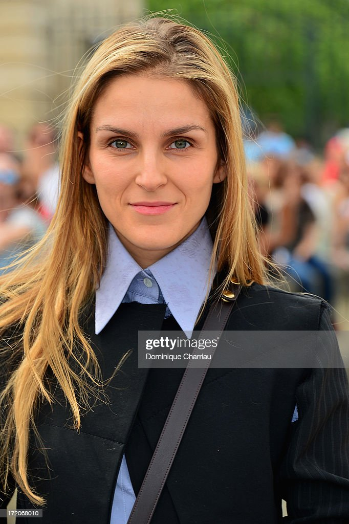 <a gi-track='captionPersonalityLinkClicked' href=/galleries/search?phrase=Gaia+Repossi&family=editorial&specificpeople=4496699 ng-click='$event.stopPropagation()'>Gaia Repossi</a> attends the Christian Dior show as part of Paris Fashion Week Haute-Couture Fall/Winter 2013-2014 at on July 1, 2013 in Paris, France.