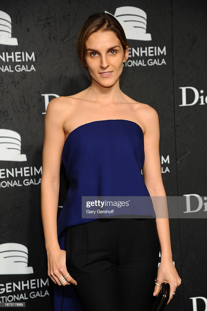 Gaia Repossi attends the Guggenheim International Gala, made possible by Dior, at the Guggenheim Museum on November 7, 2013 in New York City.