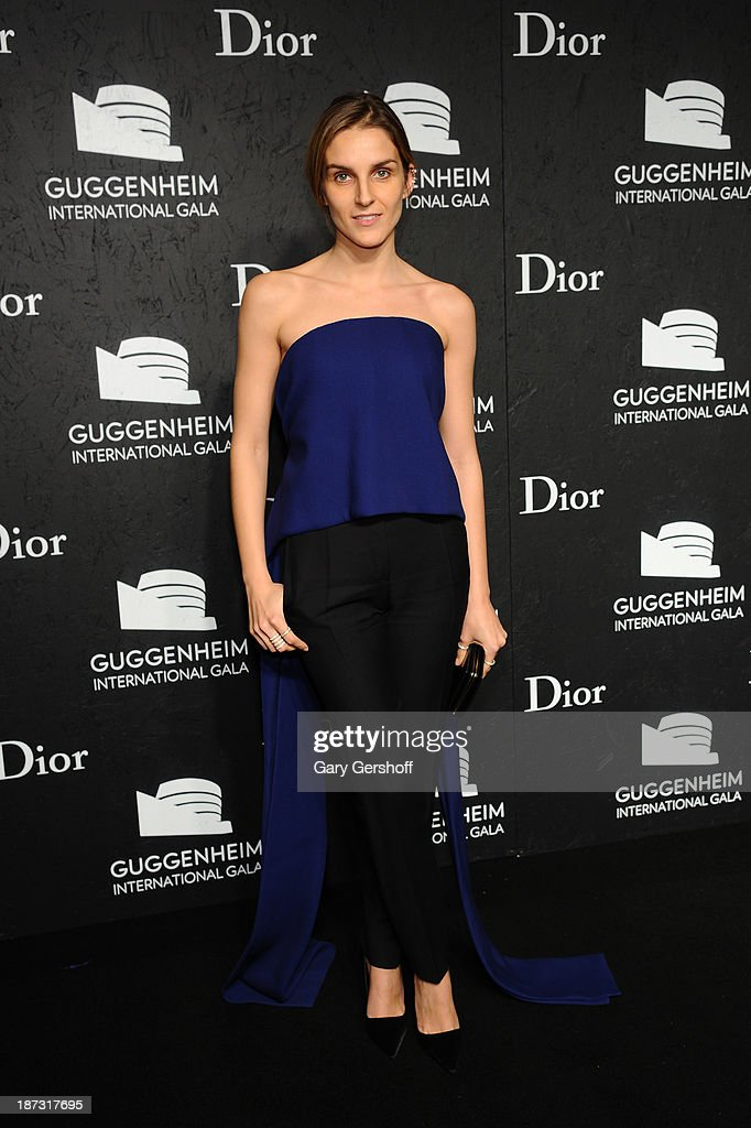 <a gi-track='captionPersonalityLinkClicked' href=/galleries/search?phrase=Gaia+Repossi&family=editorial&specificpeople=4496699 ng-click='$event.stopPropagation()'>Gaia Repossi</a> attends the Guggenheim International Gala, made possible by Dior, at the Guggenheim Museum on November 7, 2013 in New York City.