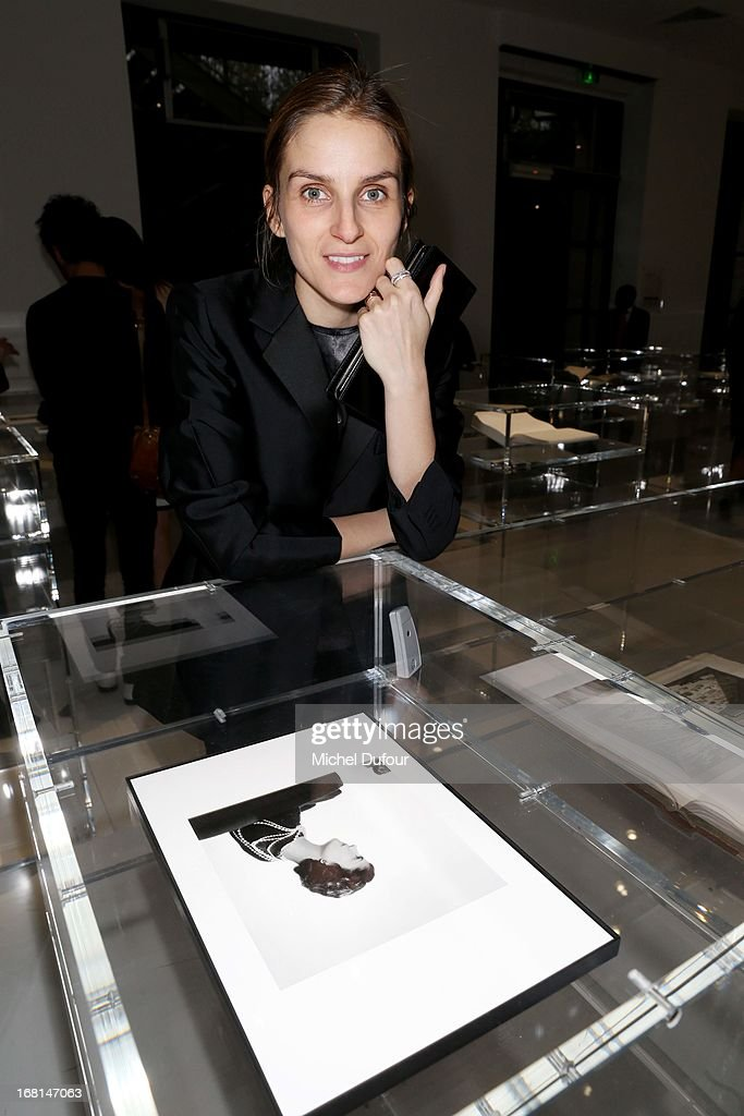 Gaia Repossi attends the 'No5 Culture Chanel' Exhibition - Photocall at Palais De Tokyo on May 3, 2013 in Paris, France.
