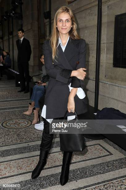 Gaia Repossi attends the Proenza Schouler Haute Couture Fall/Winter 20172018 show as part of Haute Couture Paris Fashion Week on July 2 2017 in Paris...