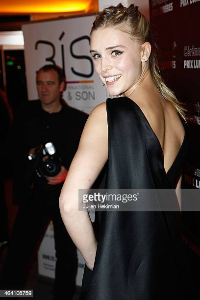 Gaia Weiss attends 'Les Lumieres 2014' Cinema Awards on January 20 2014 in Paris France