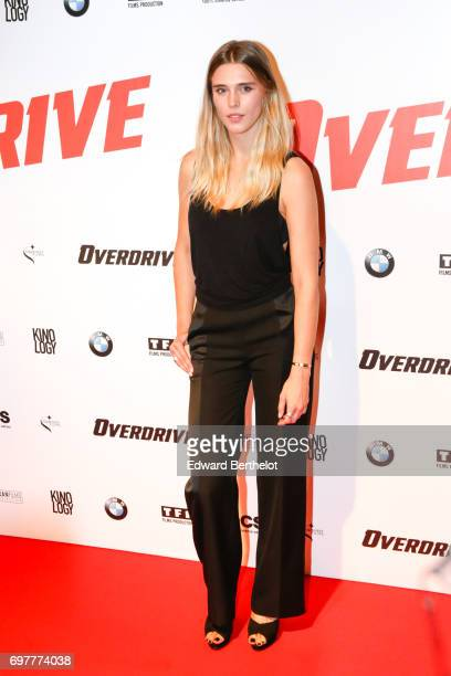 Gaia Weiss during the 'Overdrive' Paris Premiere photocall at Cinema Gaumont Capucine on June 19 2017 in Paris France