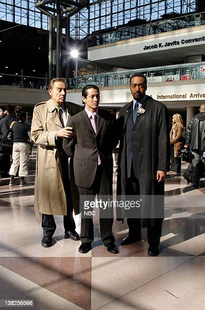LAW ORDER 'Gaijin' Episode 22 Air Date Pictured Jerry Orbach as Detective Lennie Briscoe James Hiroyuki Liao as Bobby Ito and Jesse L Martin as...