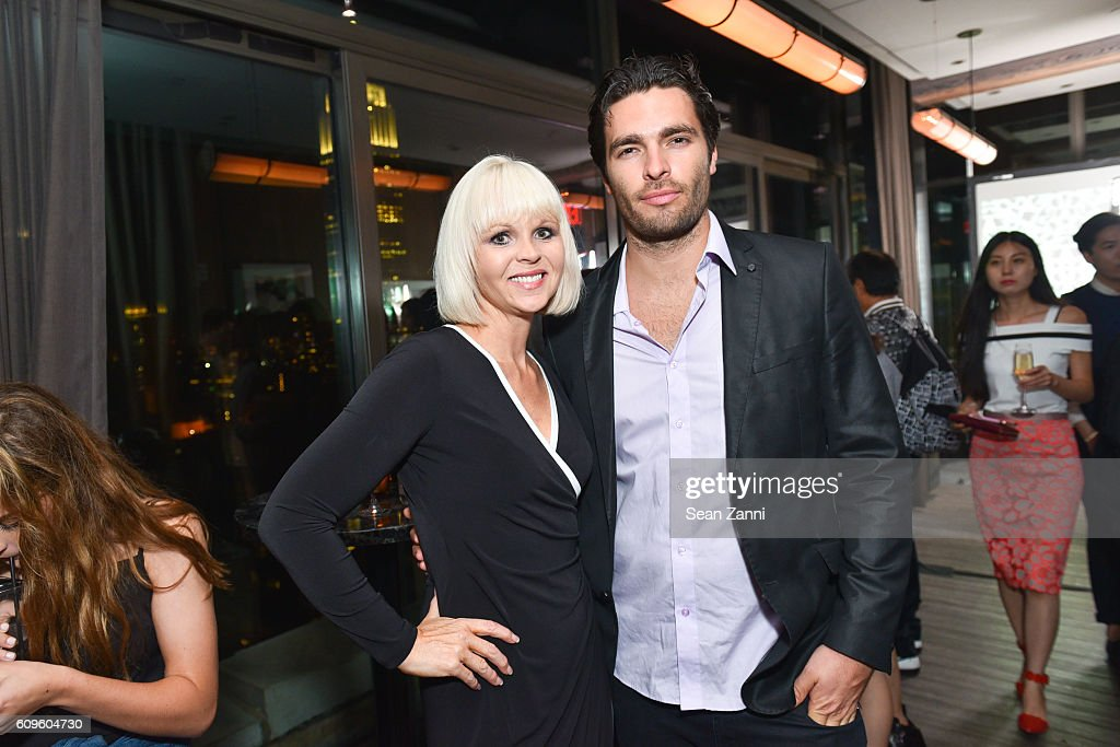 Gail Garrison and Ben Morris attend Official Vivienne Tam SS 2017 After Party at The Skylark on September 12, 2016 in New York City.