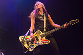 Gail Greenwood of Belly performs at O2 Forum Kentish Town on July 21 2016 in London England
