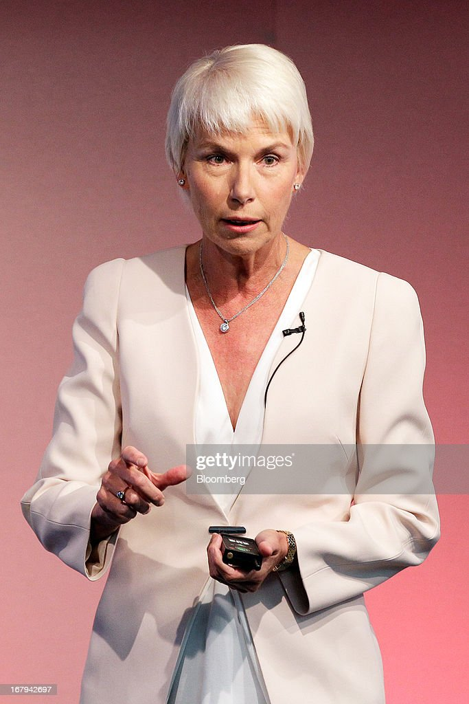 Gail Kelly, chief executive officer of Westpac Banking Corp., speaks during a news conference in Sydney, Australia, on Friday, May 3, 2013. Westpac, Australia's second-biggest lender by market value, will pay a special dividend for the first time since 1988 after first-half cash earnings rose 10 percent on tighter cost controls. Photographer: Brendon Thorne/Bloomberg via Getty Images