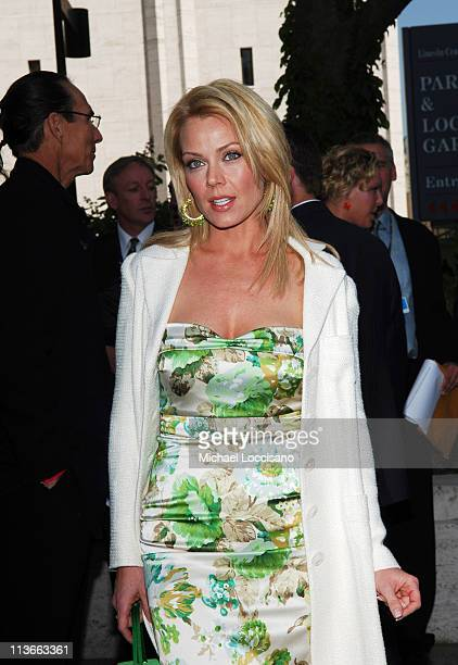 Gail O'Grady during 2005/2006 ABC UpFront Arrivals at Lincoln Center in New York City New York United States