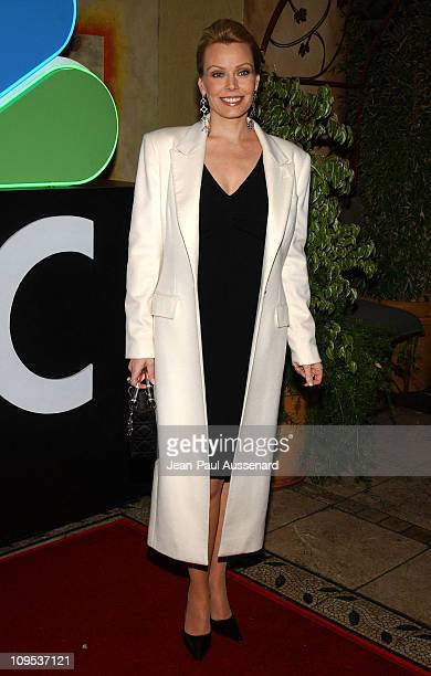 Gail O'Grady during NBC AllStar Party Arrivals at Hollywood and Highland Entertainment Complex in Hollywood California United States
