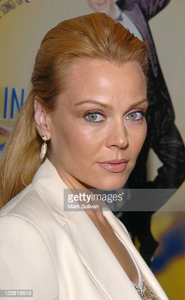 Gail O'Grady during 'The Melody Lingers On' Los Angeles Opening Night at El Portal Theatre in North Hollywood California United States