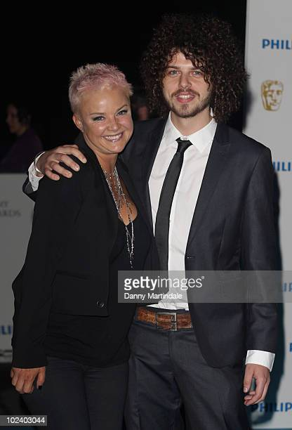 Gail Porter and friend attend the after party for the Philips British Academy Television awards at Natural History Museum on June 6 2010 in London...