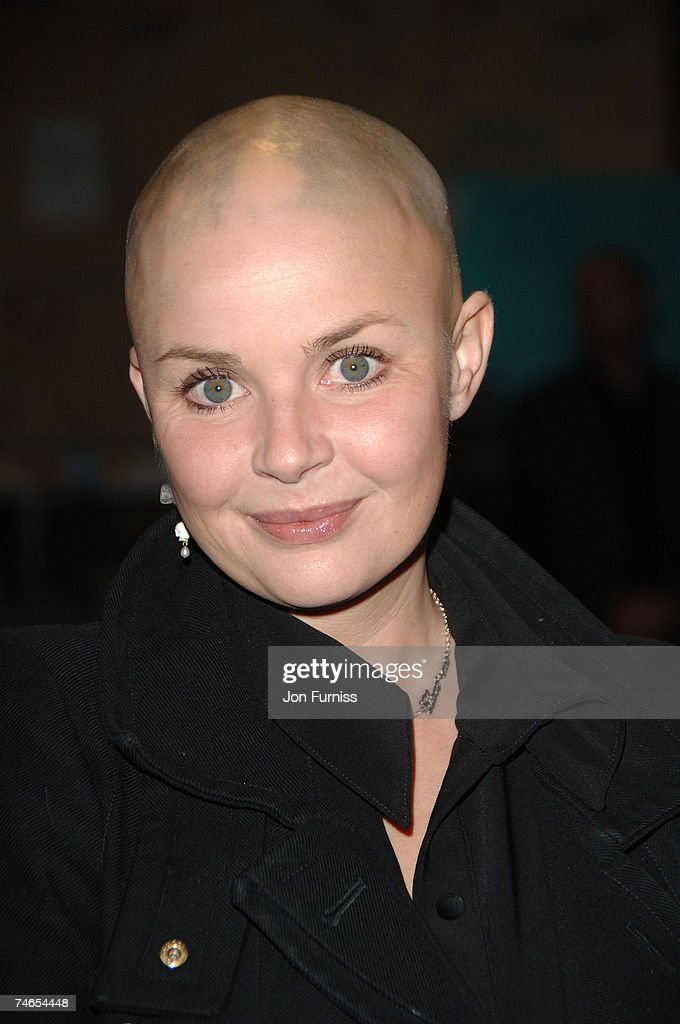 Gail Porter at the Vue West End in London, United Kingdom.