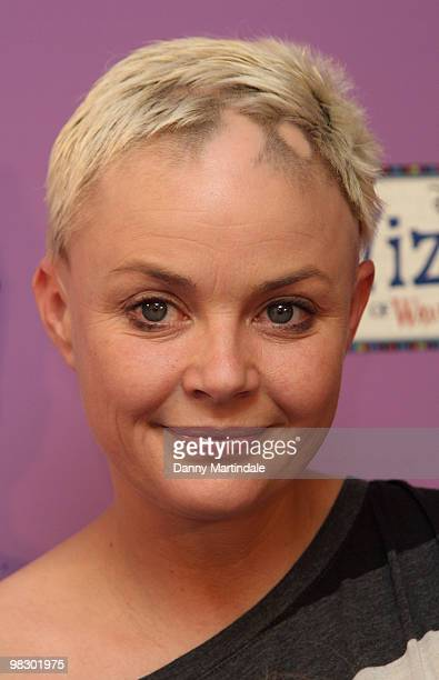 Gail Porter attends the launch of Disney Channel's 'Wizards of Waverly Place' fashion range on April 7 2010 in London England