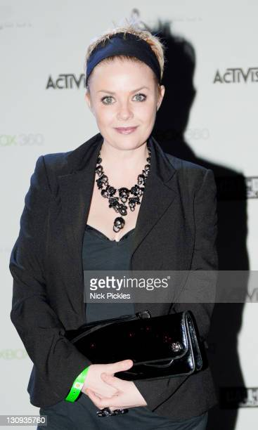Gail Porter attends the launch of the video game 'Call of Duty Black Ops' at Battersea Power station on November 8 2010 in London England