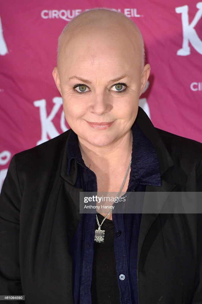 Gail Porter attends the VIP performance of 'Kooza' by Cirque Du Soleil at Royal Albert Hall on January 6, 2015 in London, England.