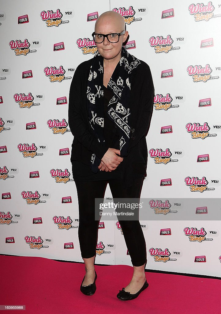 <a gi-track='captionPersonalityLinkClicked' href=/galleries/search?phrase=Gail+Porter&family=editorial&specificpeople=217576 ng-click='$event.stopPropagation()'>Gail Porter</a> attends the Wink Bingo Celebrity Female Take Over on March 18, 2013 in London, England.