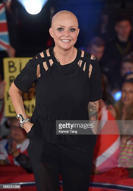 Gail Porter is the 5th Celebrity evicted from the Big Brother House at Elstree Studios on September 15 2015 in Borehamwood England