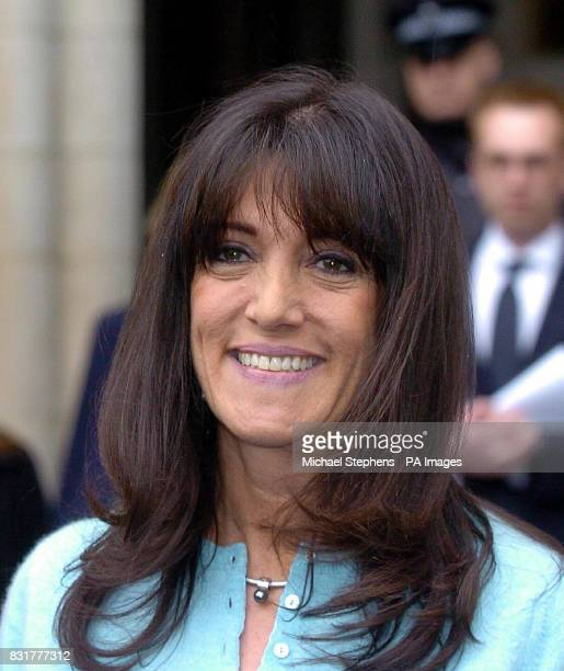 Gail Rebuck chairwoman and chief executive of publishers Random House outside the High Court Friday April 7 2006 after Mr Justice Peter Smith ruled...