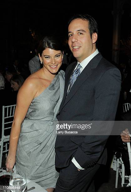 Gail Simmons and Jeremy Abrams attend the 3rd Annual Blossom Ball celebrated by The Endometriosis Foundation of America at New York Public Library...
