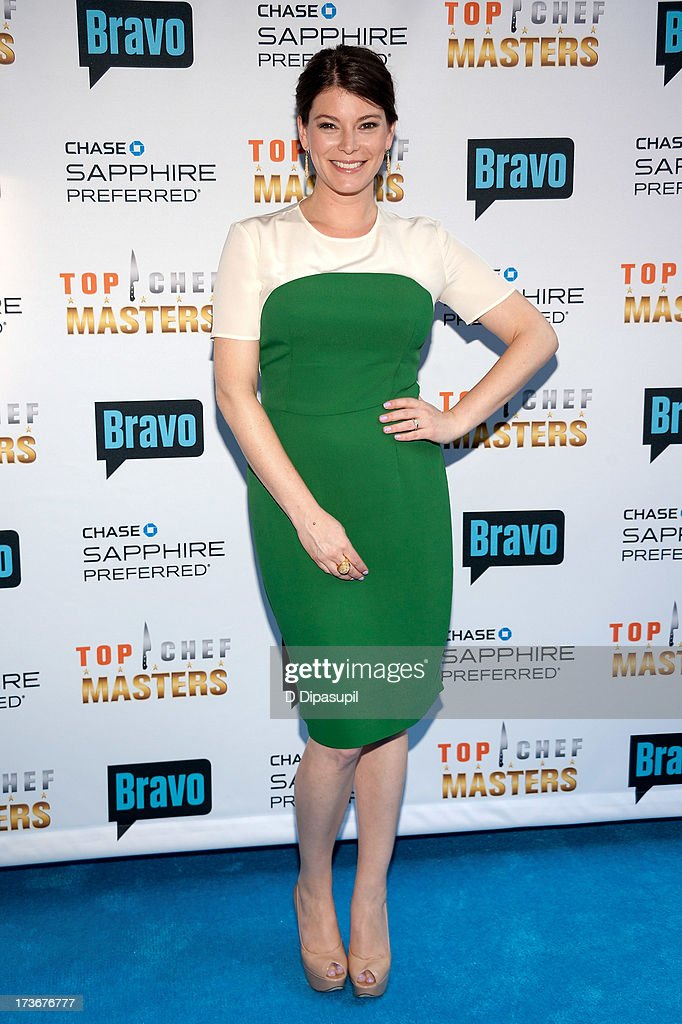 <a gi-track='captionPersonalityLinkClicked' href=/galleries/search?phrase=Gail+Simmons&family=editorial&specificpeople=4337508 ng-click='$event.stopPropagation()'>Gail Simmons</a> attends Bravo's 'Top Chef Masters' Season 5 Premiere Celebration at 82 Mercer on July 16, 2013 in New York City.