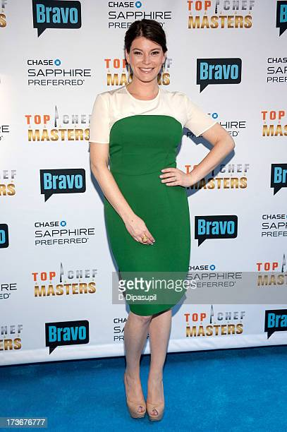 Gail Simmons attends Bravo's 'Top Chef Masters' Season 5 Premiere Celebration at 82 Mercer on July 16 2013 in New York City