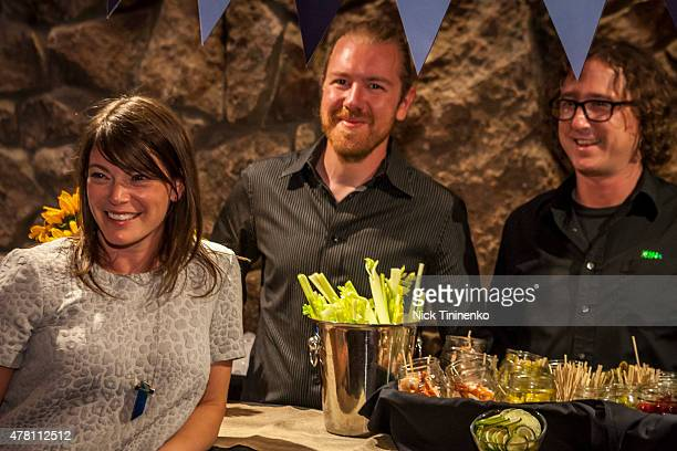 Gail Simmons attends Zodiac Vodka Brand Ambassador Kacey Musgraves And Top Chef's Gail Simmons Host The FOOD WINE Classic In Aspen's Last Call Y'All...