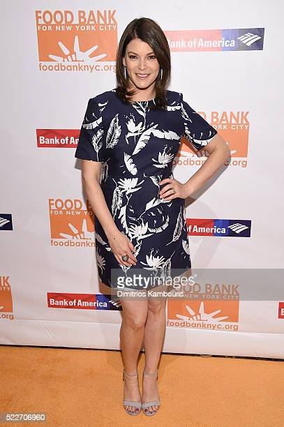 Gail Simmons of Top Chef attends the Food Bank Of New York City's Can Do Awards 2016 hosted by Mario Batali at Cipriani Wall Street on April 20 2016...