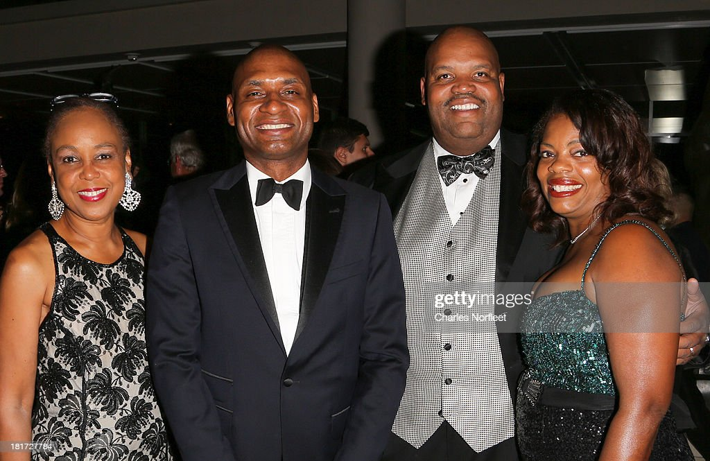 Gail Wright Sirmans, Charles Blow, Reginald Brown and Aliya Brown attend 2013 Multicultural Gala: An Evening Of Many Cultures at Metropolitan Museum of Art on September 23, 2013 in New York City.