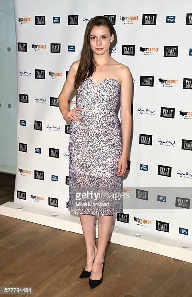 Gaite Jensen attends BBC Two's drama 'Peaky Blinders' UK premiere screening of episode one series three at BFI Southbank on May 3 2016 in London...