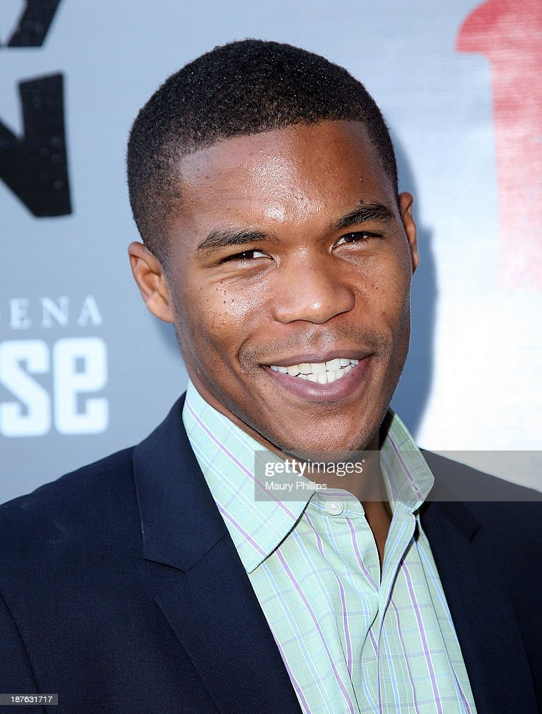 Gaius Charles attends '12 Angry Men' at the Pasadena Playhouse on November 10, 2013 in Pasadena, California.