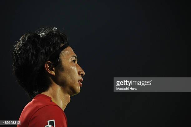 Gaku Shibasaki of Kashima Antlers looks on during the JLeague match between Kashiwa Reysol and Kashima Antlers at Hitachi Kashiwa Soccer Stadium on...