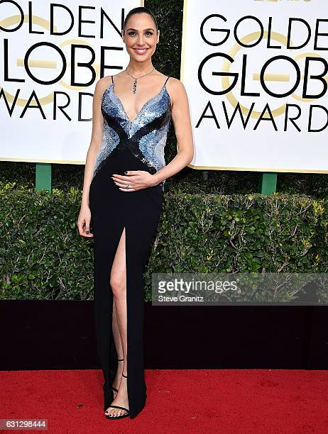 Gal Gadot arrives at the 74th Annual Golden Globe Awards at The Beverly Hilton Hotel on January 8 2017 in Beverly Hills California