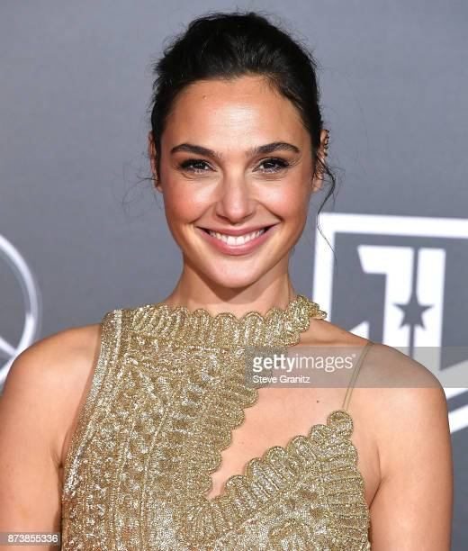 Gal Gadot arrives at the Premiere Of Warner Bros Pictures' 'Justice League' at Dolby Theatre on November 13 2017 in Hollywood California