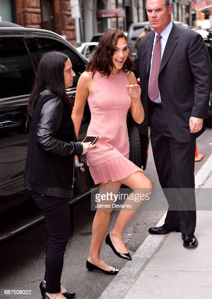 Gal Gadot arrives to 'AOL Build' taping at BUILD Studio on May 23 2017 in New York City