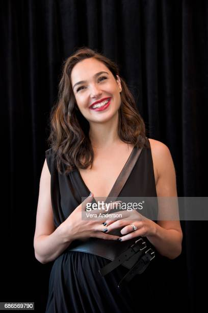 Gal Gadot at the 'Wonder Woman' Press Conference at 3Labs on May 19 2017 in Culver City California